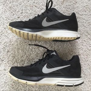 Nike Black On Black Leopard Sneakers